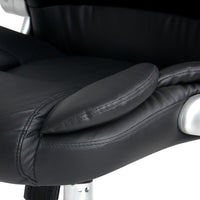 Phillipa Executive Office Chair - Black seat padding