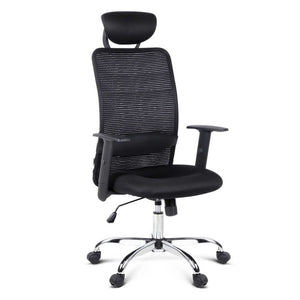 Mesh High Back Office Chair - Black