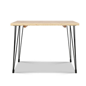 Bailey 6 Seat Dining Table - front on view
