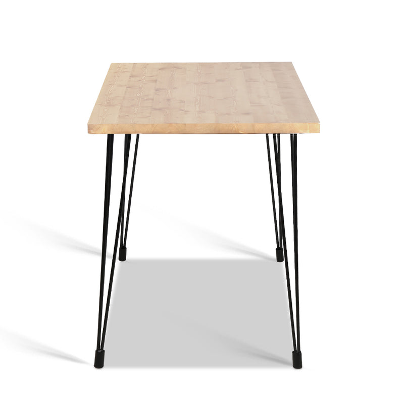 Bailey 6 Seat Dining Table - side view