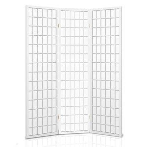 Gretel 3 Panel Room Divider wide open