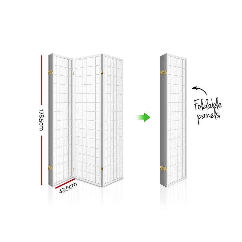 Lacy 6 Panel Room Divider