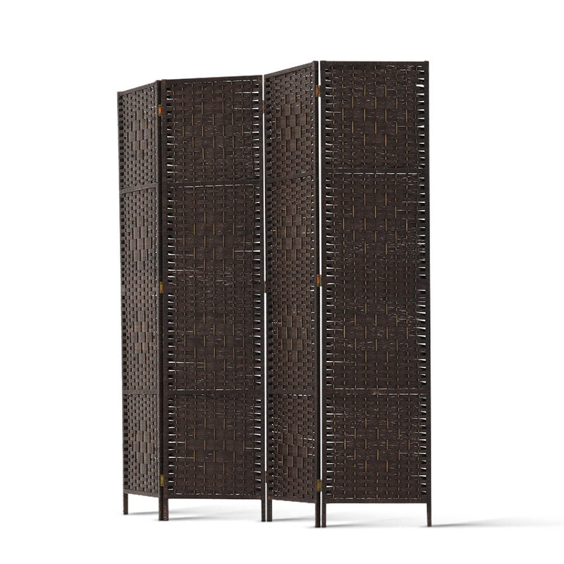Donald 4 Panel Room Divider side view