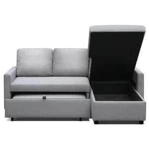 Aster Three Seater Sofa Bed with Storage cover up