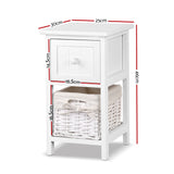 Megan 2 Piece Bedside Table