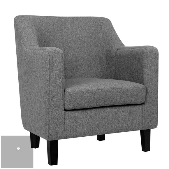 Fred Dining Armchair - Grey