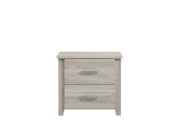 White Oak Bedside Table