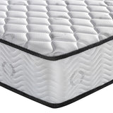 Single Size 23cm Thick Firm Mattress corner close up