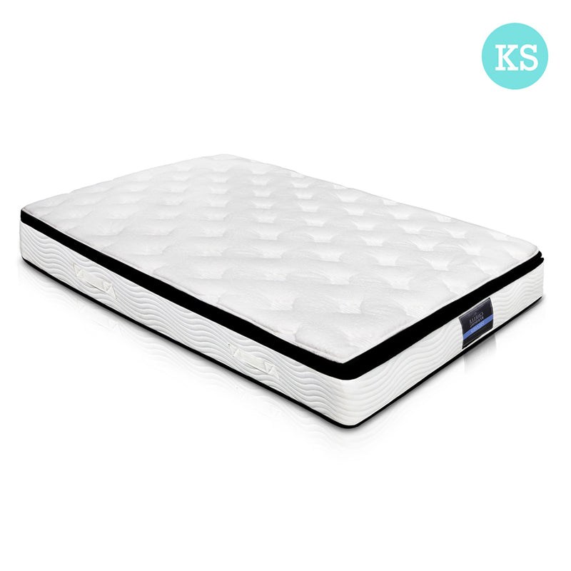 28cm Thick Foam Mattress King Single full view