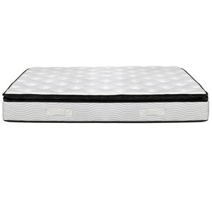 28cm Thick Foam Mattress King Single side view