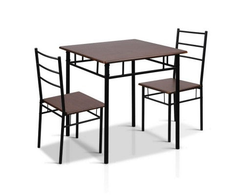 Artiss - Table and 2 Chairs - HomeSimplicity