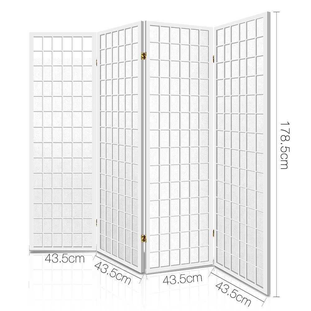 Drift 4 Panel Room Divider measurements