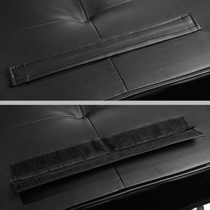 Cedric 3 Seater PU Leather Sofa Bed arm attachment