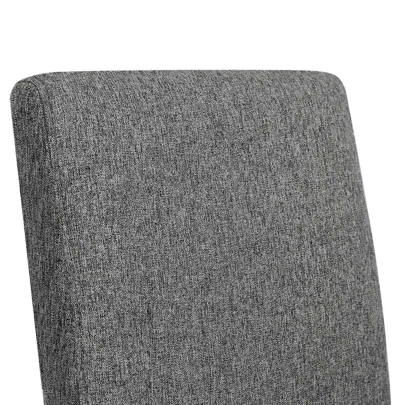 Zion Fabric Dining Chairs (Set of 2) back rest