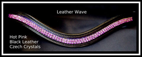Purple leather Wave