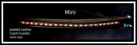 mini noseband red
