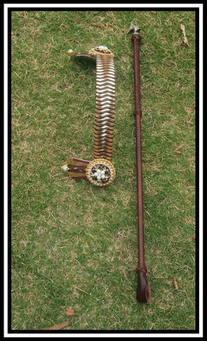 Glamour Browband and Cane set