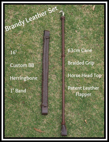 Brandy Hunter cane set