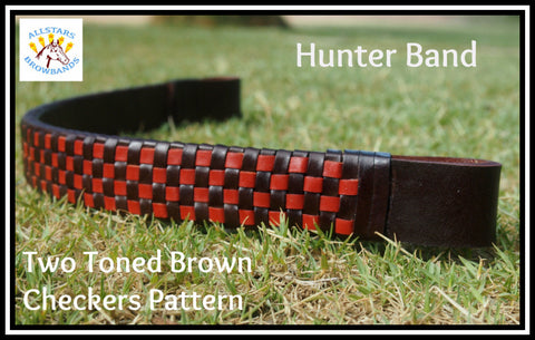 Checkers Hunter Band two toned