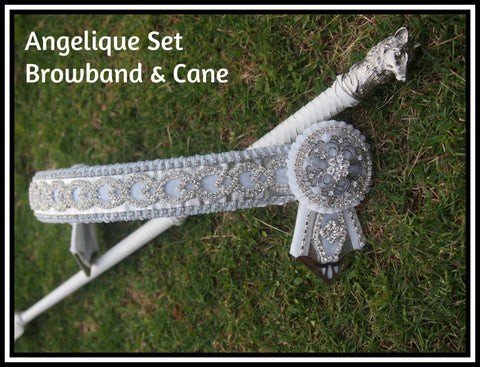 Angelique Browband and cane set