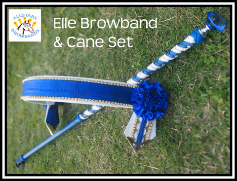 Elle Browband and Cane set