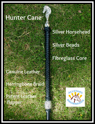 Horse Head plus Beads Cane