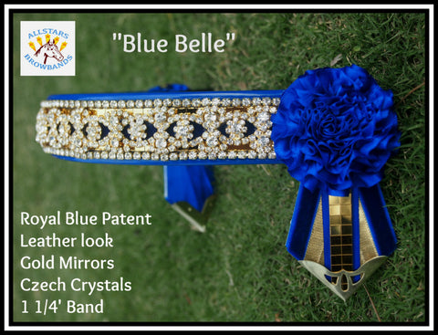 Blue Belle instock in a cob