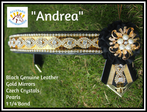 Andrea Browband in stock Full Size
