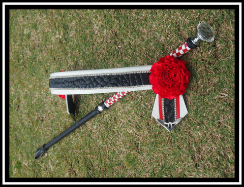 Rebel Browband & CaneSet