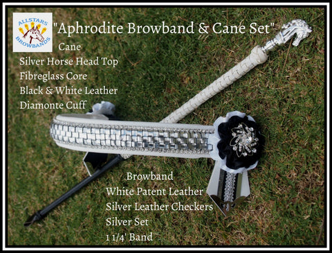 Aphrodite Browband and cane set