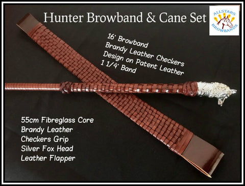 Brandy Checkers Hunter Set