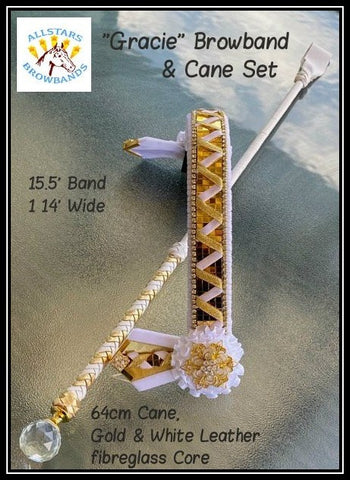 Gracie Browband & Cane Set