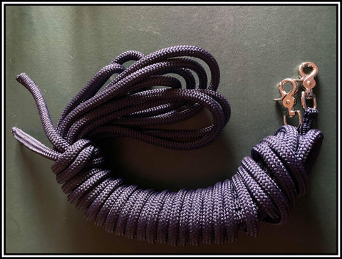 22Ft Slip Driving Reins( Long Reins) Navy