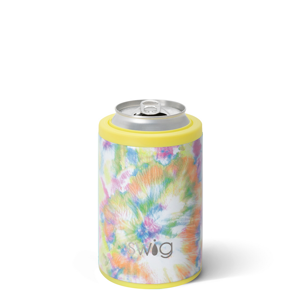 Swig 12 oz Skinny Can Coozie + You Glow Girl
