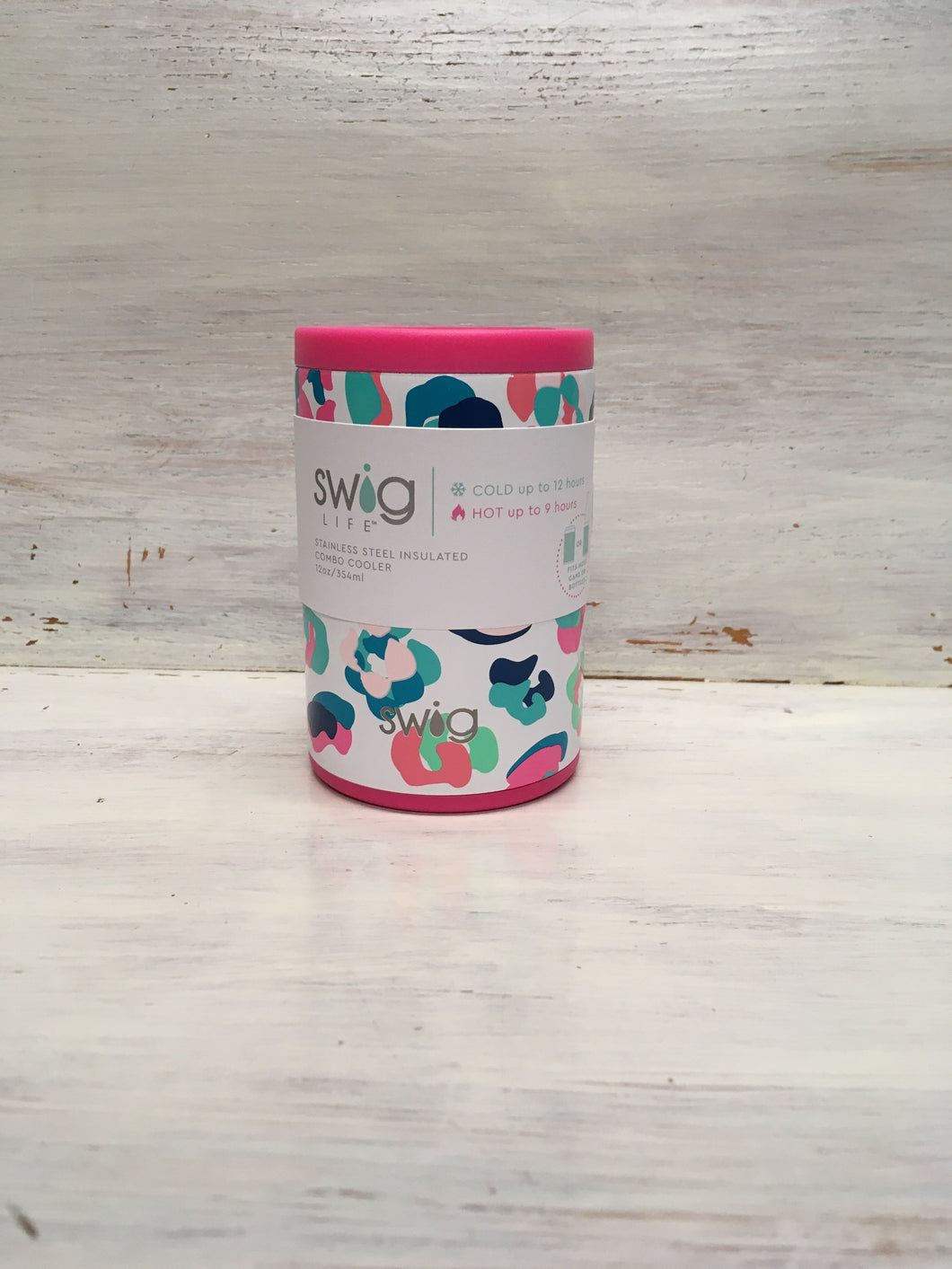 Swig 12 oz Original Can Coozie + Party Animal