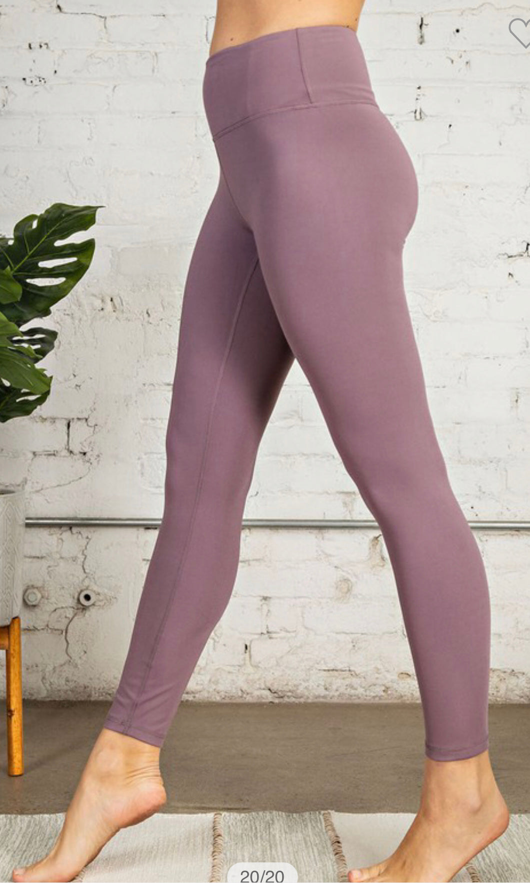 Butter Soft Leggings + Frosted Mulberry