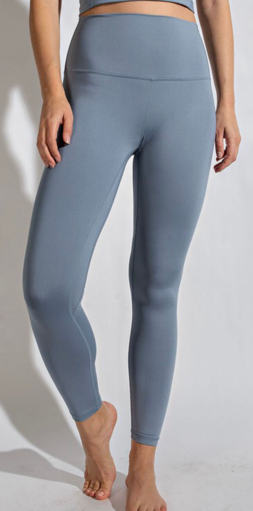 Buttersoft Leggings + Chambray