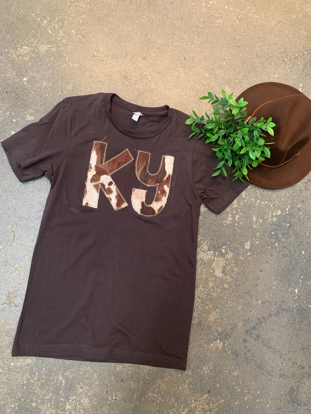 Brown + Cow [KY] Tee