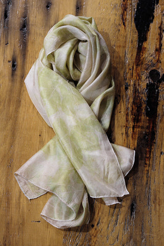 #RR1755, Rose Leaf Scarf