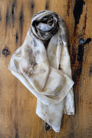 #RR1752, Rose Leaf Scarf
