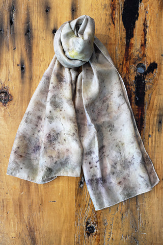 Rose Petals and Rust Scarf