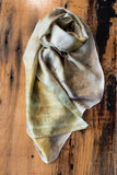 #RR1767, Elm Leaf and Rust Scarf