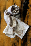 #RR1786, Rose Petal and Rust Scarf