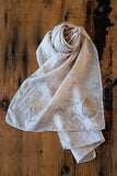 #RR1772, Smoke Bush Leaf Scarf