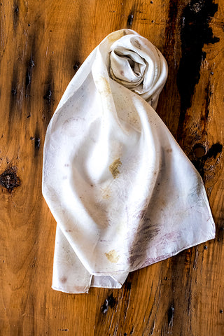 #RR1805 Rose Leaf Scarf