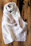 #RR1808 Rose Leaf Scarf