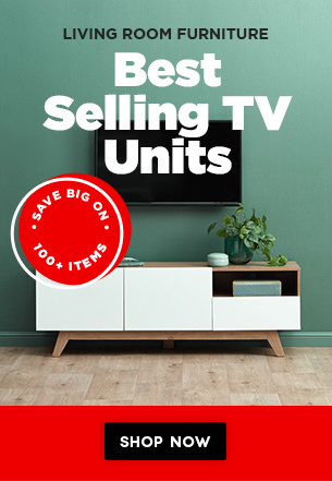 Festive TV Console Cabinet Special - Up to EXTRA 30% OFF FIRE SALE