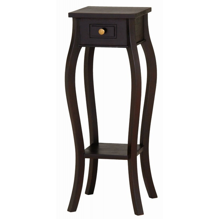 Signature Telephone Table Planter Stand  Side Table TEK168 PS 001 CL ( Mahogany Colour )