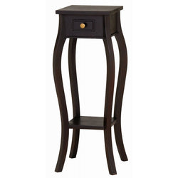 Signature Telephone Table Planter Stand  Side Table TEK168PS 001 CL ( Chocolate Colour )