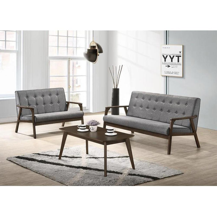 3 Seater (W162 x D77 x H81 cm) and 2 Seater (W110 x D77 x H81 cm) with Coffee Table